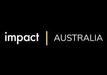Decoration: logo for Impact Australia